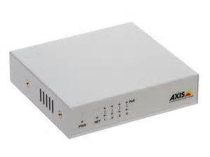 10/100-MBit/s-PoE+-Switch mit vier Anschlüssen