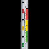 AXIS F9201 Gehäuse (silber) mit Höhenmarkierung