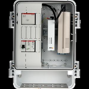 AXIS T98A18-VE Medien-Konverter-Schrank A
