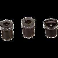 Objektiv M12 Megapixel, gemischtes 6er-Paket
