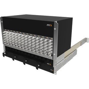 A modular solution that is ideal for large installations based on AXIS Q7920 Video Encoder Chassis.