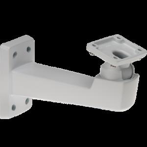 Die AXIS T94Q01A Wandhalterung wird mit Schutzgehäuse geliefert.