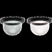AXIS Q60-E/-C Klare/getönte Kuppeln