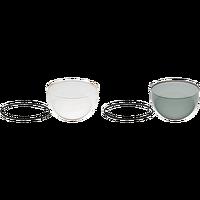 AXIS Q60-S Klarglas-/Rauchglas-Kuppel