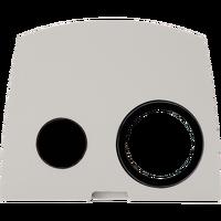 AXIS Q87-E Front-Set 35mm