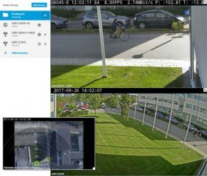 AXIS Radar Autotracking for PTZ