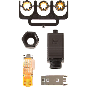 Push-Pull-Stecker für RJ45-Anschluss