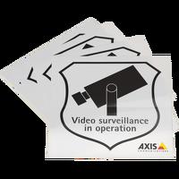 Überwachungsaufkleber