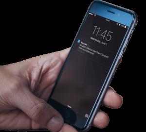 Erhalten Sie Push-Benachrichtigungen auf Ihr Mobilgerät
